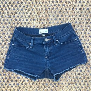 ROXY DENIM INDIGO SHORTS  0/24